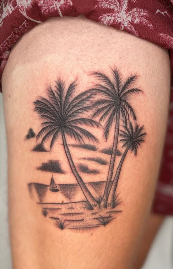 Tyler Davis Lucky You Tattoo